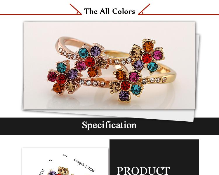 R548 WholesaleHigh QualityNickle Free AntiallergicNew Fashion Jewelry 18K Real AlloyRing For Women  NHKL7577