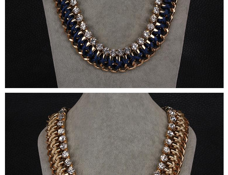N050-GChristmas Jewelry Fashion Necklaces For Women fashion big star Metal necklaces NHKL8918-G