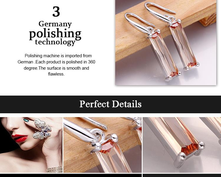 E968-AWholesale Nickle Free Antiallergic 18K Real Alloy Earrings For Women New Fashion Jewelry NHKL7560-A