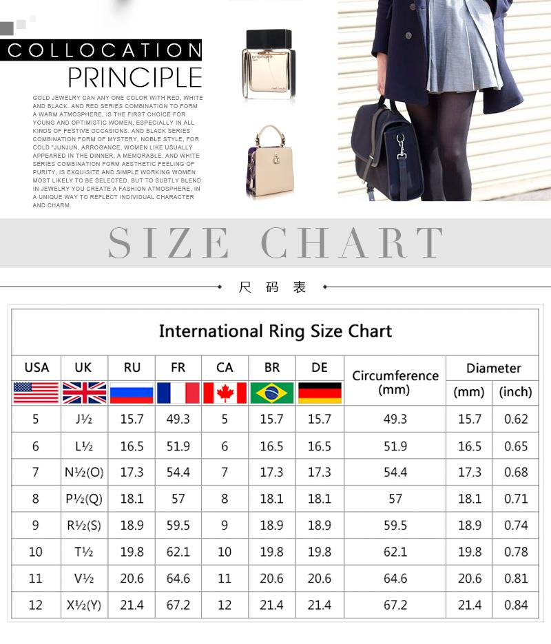 R004-D  Alloy fashion ring for women jewelry accessories nickle free NHKL6237-D-8
