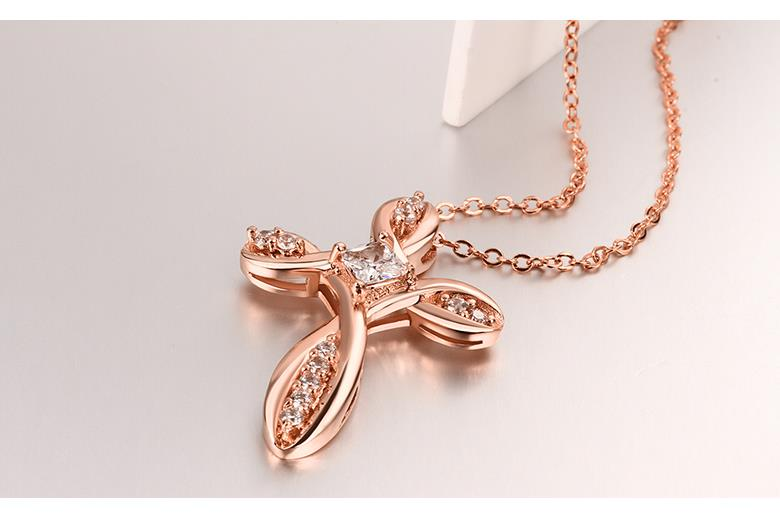 N065-B High Quality zircon necklace Fashion Jewelry Free shopping 18K alloy plating necklace NHKL6633-B