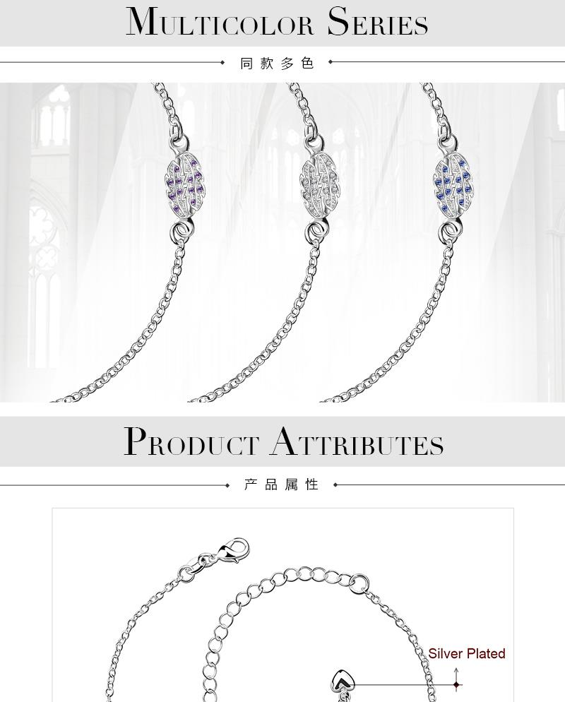 A013-C   New Design Large Stock Delicate Handmade   Cheap Alloy Anklet Bulk Sale NHKL6007-C