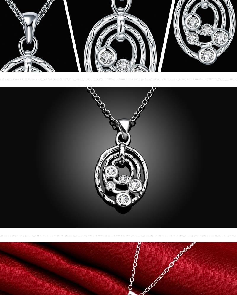 N090-C High Quality New Style Fashion Jewelry Free shopping Alloy Plating Necklace NHKL6195-C