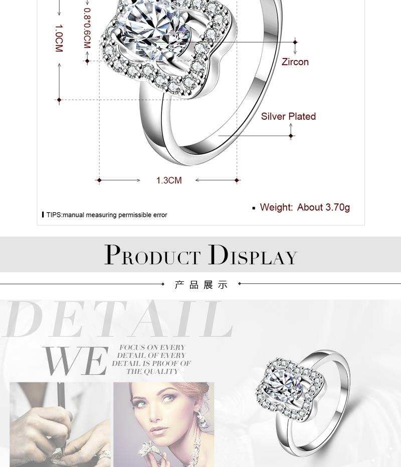 R045-E-8  Alloy fashion ring for women jewelry accessories nickle free NHKL6278-E-8
