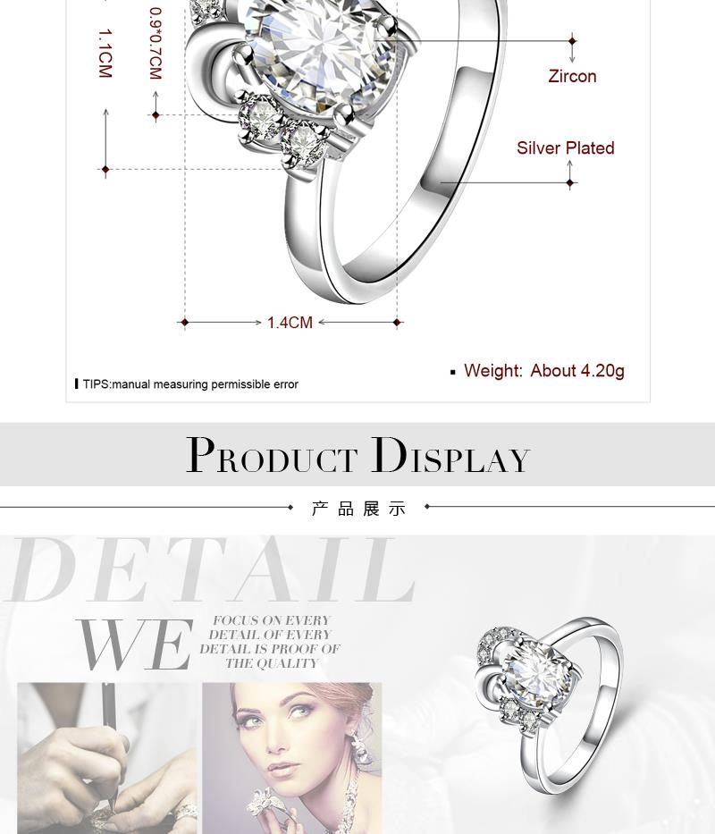 R051-D-8  Alloy fashion ring for women jewelry accessories nickle free NHKL6284-D-8