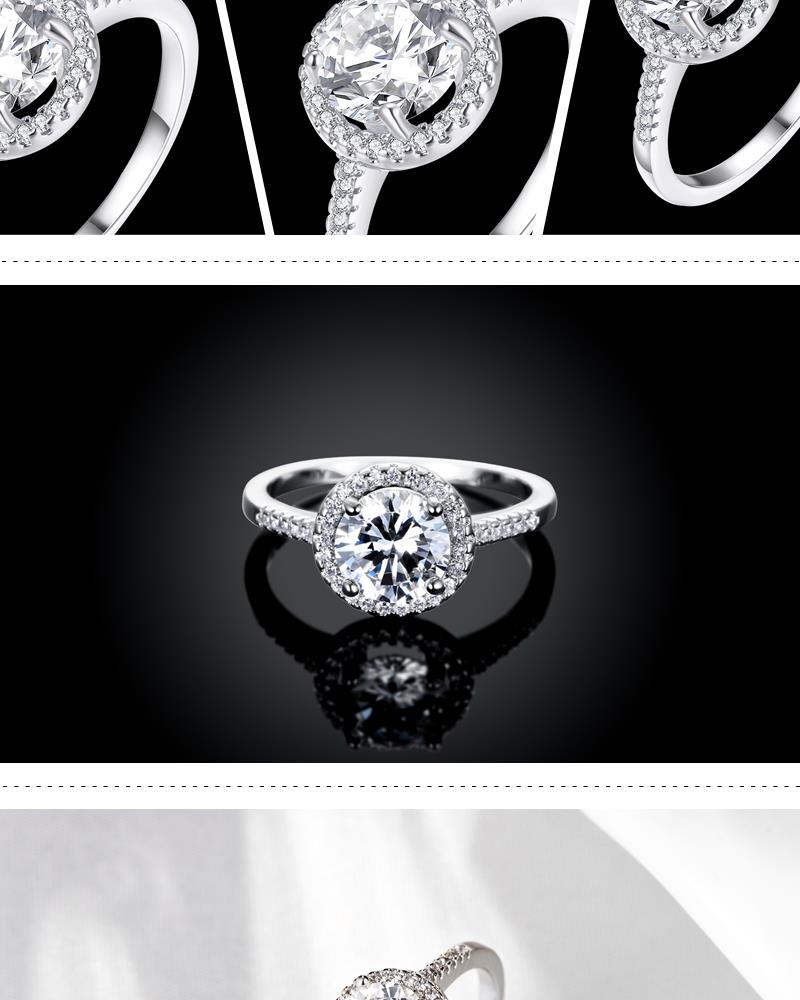R006B8 Wholesale High Quality Nickle Free Antiallergic New Fashion Jewelry K Alloy Ring NHKL5882B8