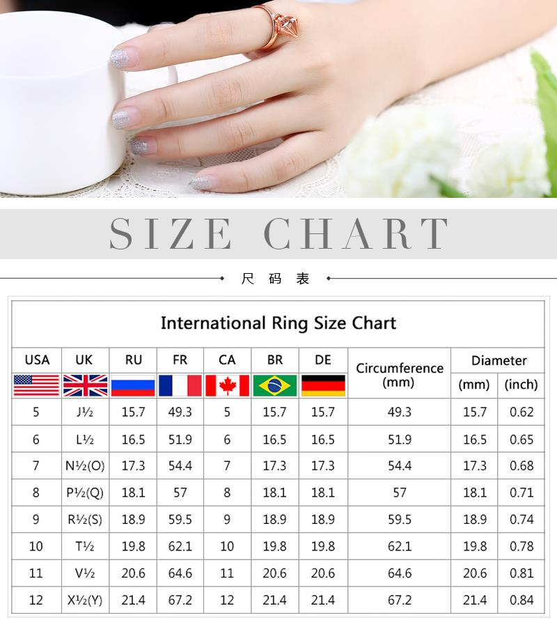 R368-B-8    High Quality Nickle Free Antiallergic New Fashion Jewelry White Plated zircon Ring NHKL7067-B-8