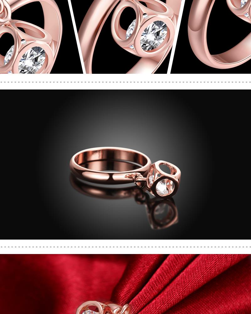 R370-B-8 High Quality Nickle Free Antiallergic New Fashion Jewelry White Plated zircon Ring NHKL7069-B-8