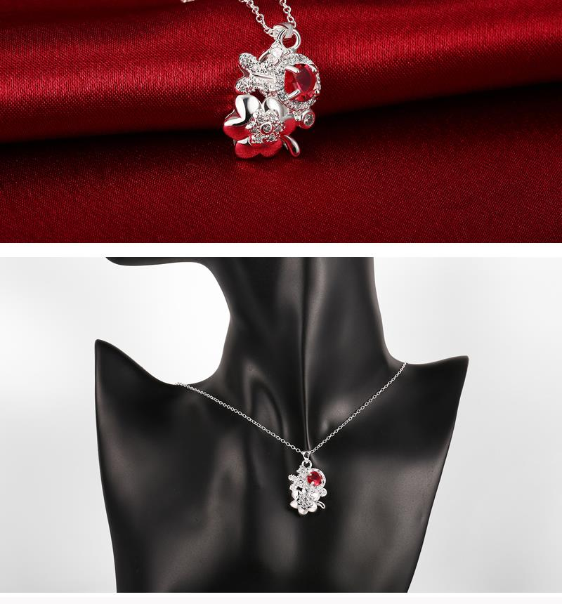 N125-B  Alloy necklace brand new design pendant necklaces jewelry for women NHKL6230-B