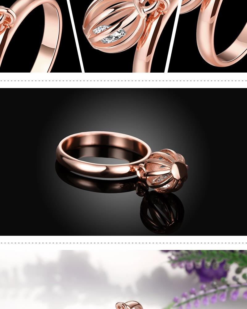 R405-B-8 High Quality Nickle Free Antiallergic New Fashion Jewelry White Plated zircon Ring NHKL7104-B-8
