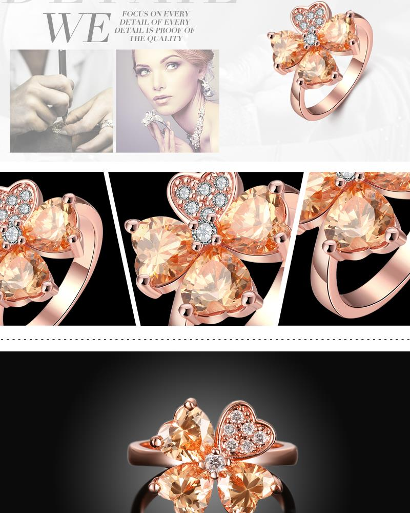 R392-A-8 High Quality Nickle Free Antiallergic New Fashion Jewelry White Plated zircon Ring NHKL7091-A-8
