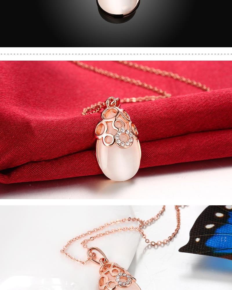 N028 Wholesale Nickle Free Antiallergic Real Alloy Necklace pendants New Fashion Jewelry NHKL5851
