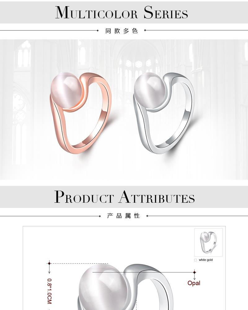 R062-B-8 Wholesale High Quality Nickle Free Antiallergic New Fashion Jewelry K Alloy Ring NHKL5937-B-8