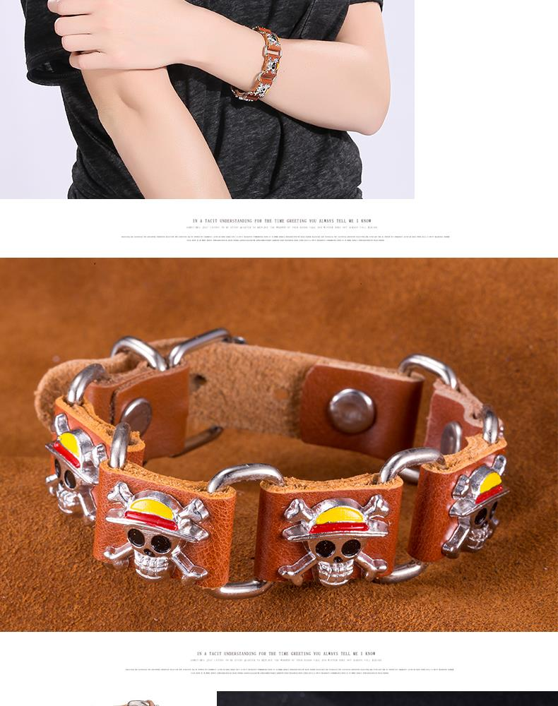 NEW Jewelry fashion Leather Cute Infinity Charm Bracelet Alloy lots Style PickD NHKL8653-B