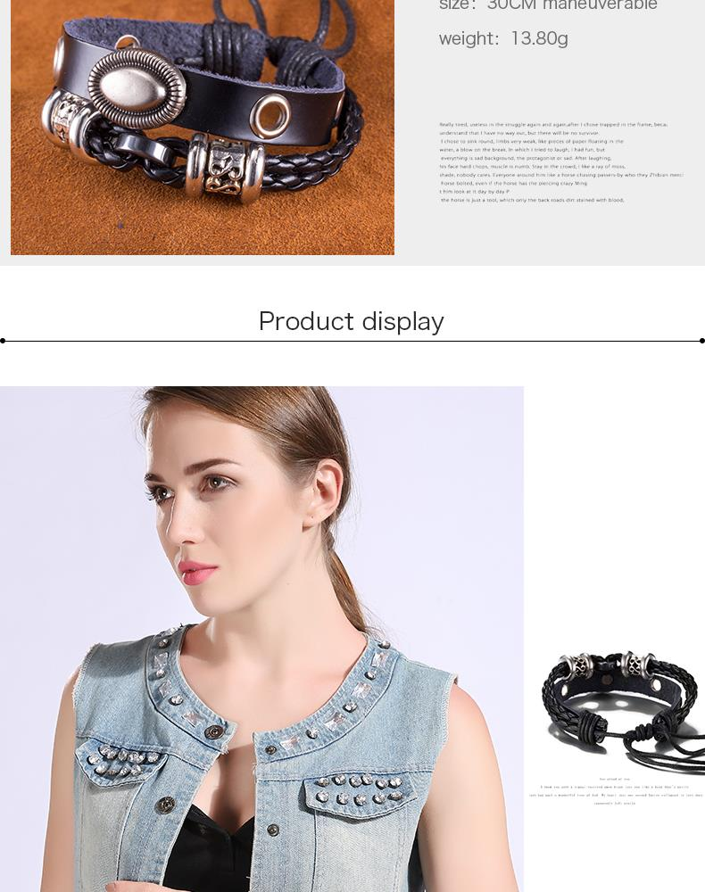 NEW Jewelry fashion Leather Cute Infinity Charm Bracelet Alloy lots Style PickD NHKL8669