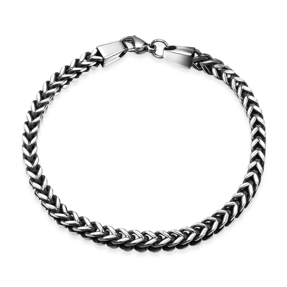 2018 montblanc braclet fashion 316l stainless steel bracelet figaro chain vintage jewelry for. Black Bedroom Furniture Sets. Home Design Ideas