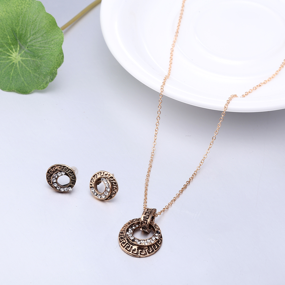 Fashion Zinc Alloy Jewelry Set NHKL11090